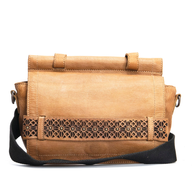 KOMPANERO Zara Tobacco Crossbody Bag