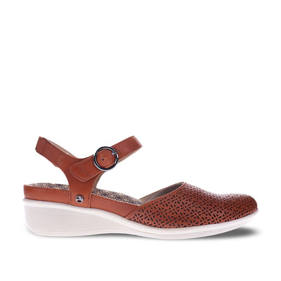 REVERE Calabria Sling Back Mary Jane#color_cognac