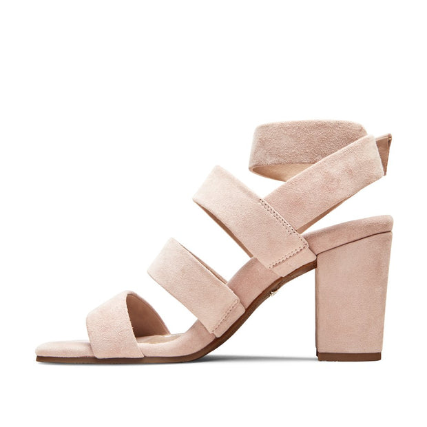 Blair Heeled Sandal - Rose