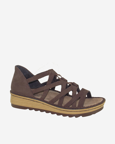 NAOT Yarrow Ghillie Lace-up Coffee