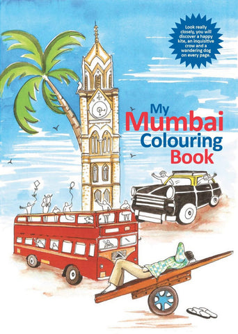 My Mumbai Colouring Book