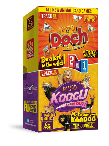 Koogu + Doch 2-in-1 Card game Combo Pack by Kaadoo