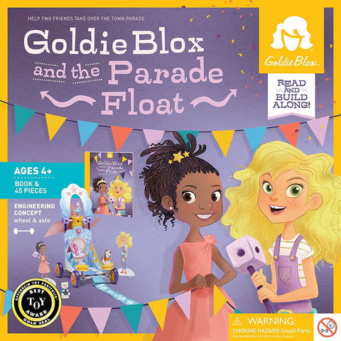 GoldieBlox and the Parade Float by Goldie Blox