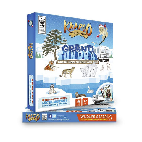 Grand Tundra - Arctic Circle Edition Board Game by Kaadoo