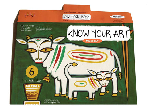 Jamini Roy Kit by Know Your Art