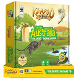 Explore Wild Australia - The Land Down Under Board Game by Kaadoo