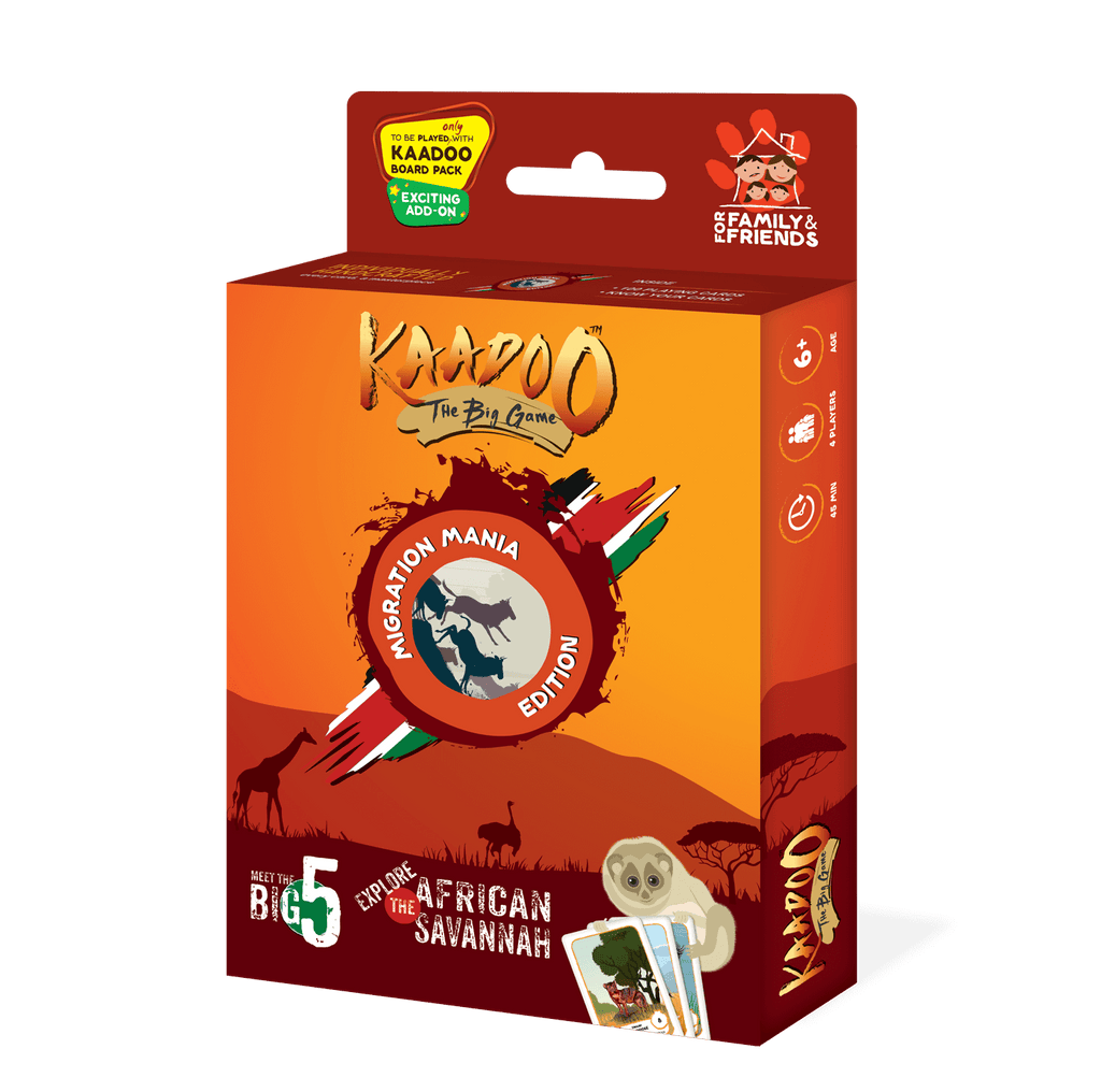 Migration Mania Edition Board Game by Kaadoo