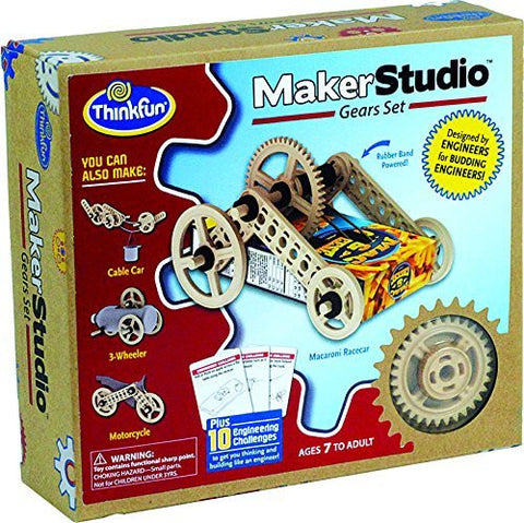 Maker Studio - Gears Set by ThinkFun