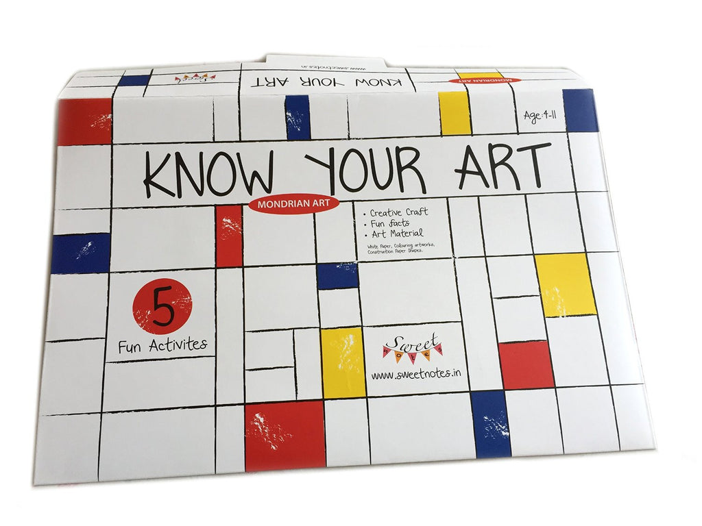Piet Mondrian Kit by Know Your Art