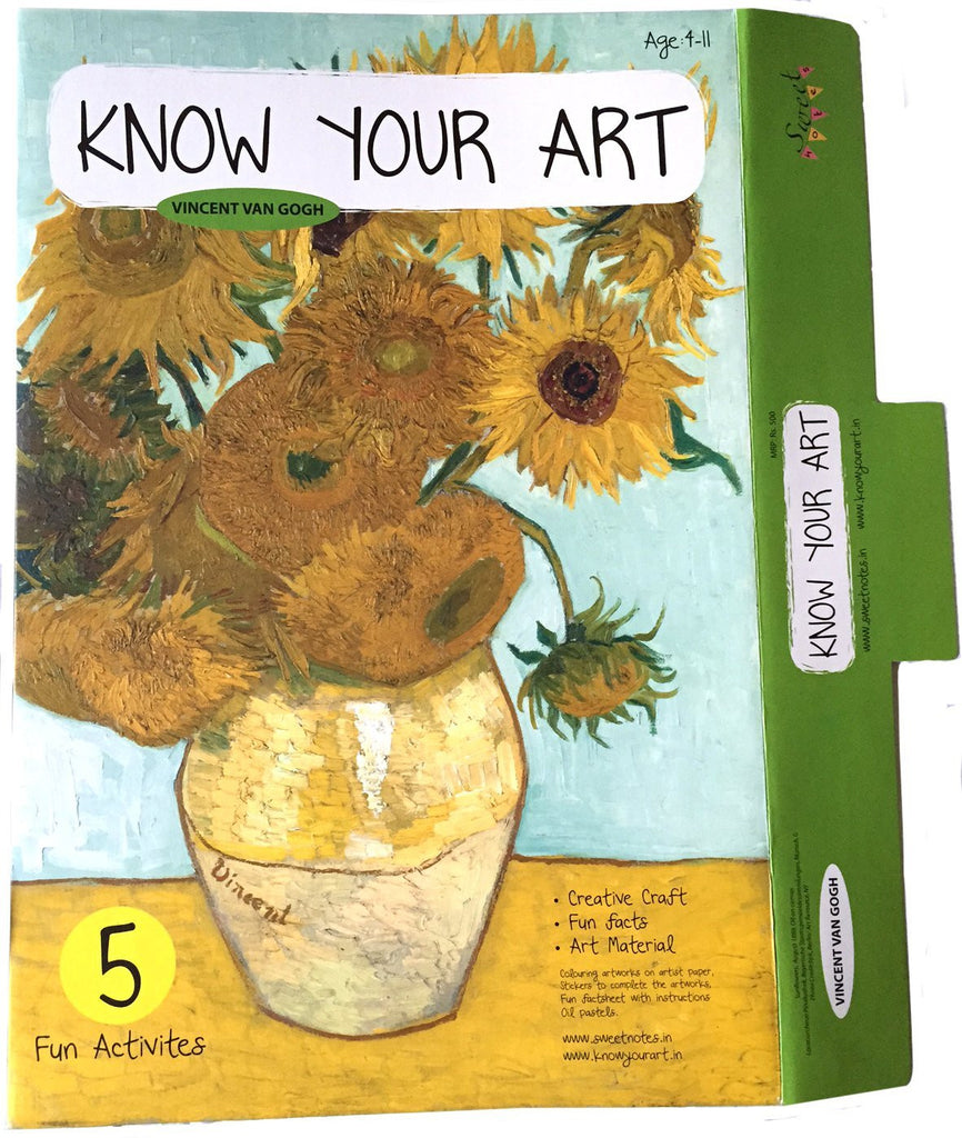 Vincent Van Gogh Kit by Know Your Art