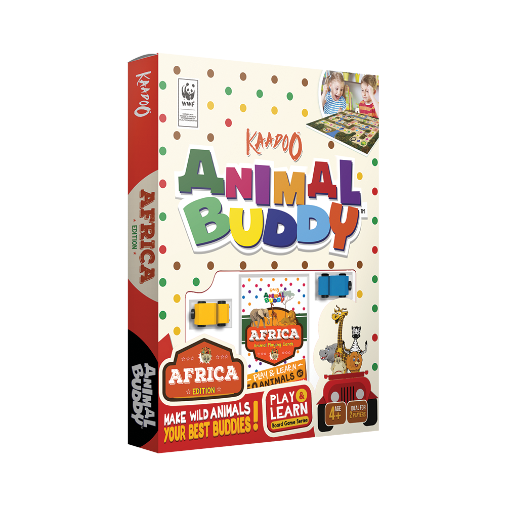 Animal Buddy - Africa Edition Board Game by Kaadoo