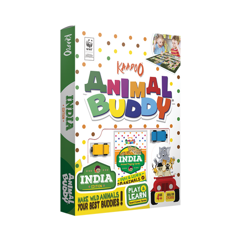 Animal Buddy - India Edition Board Game by Kaadoo
