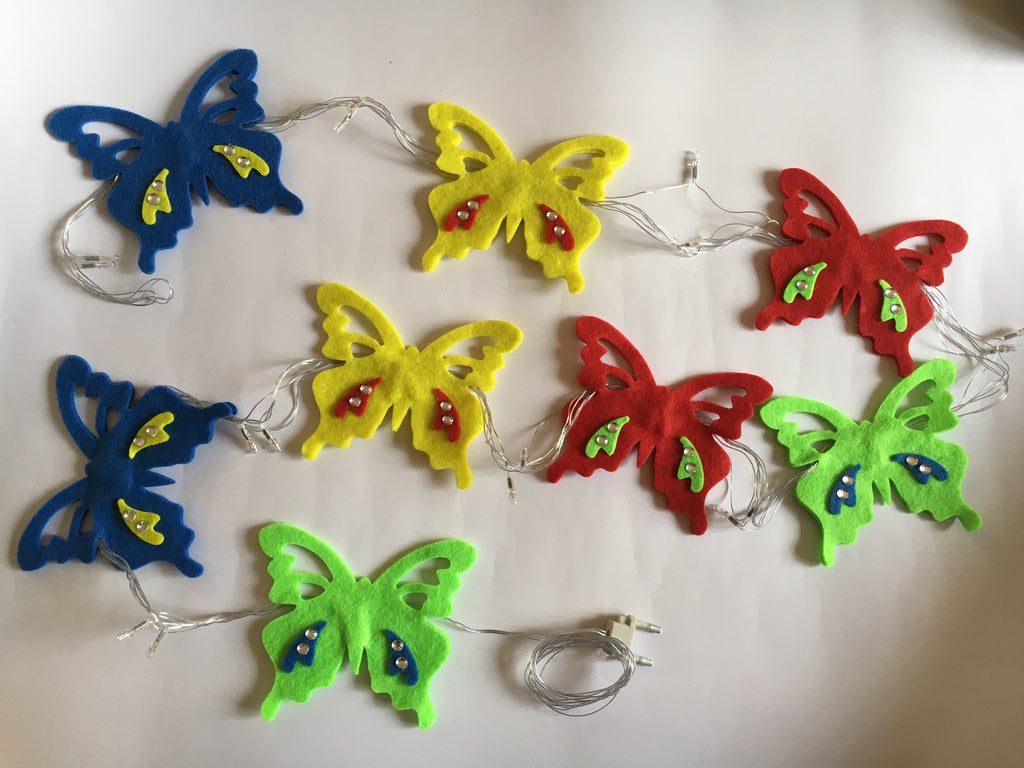 Butterfly Fairy Lights by Fairytales