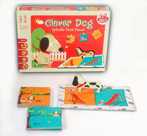 Clever Dog by Chalk and Chuckles