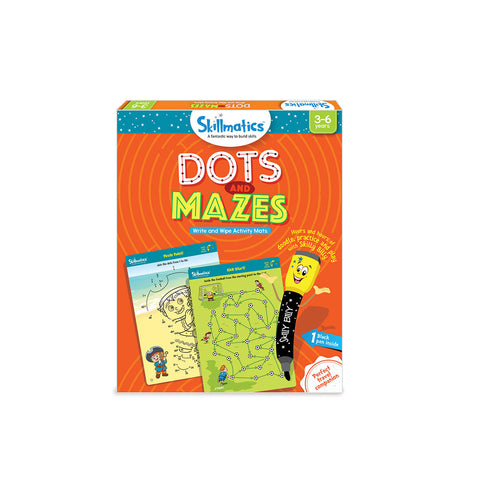 Dots and Mazes by Skillmatics