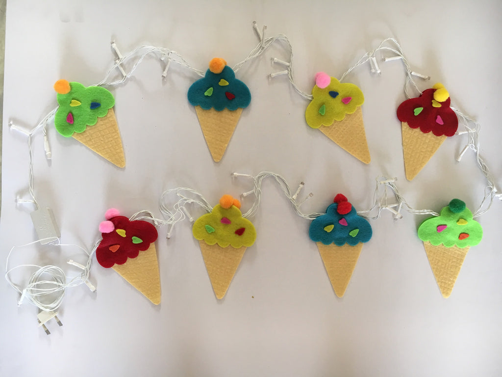 Icecream Fairy Lights by Fairytales