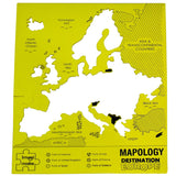 Mapology: Destination Europe Map Puzzle by Imagimake