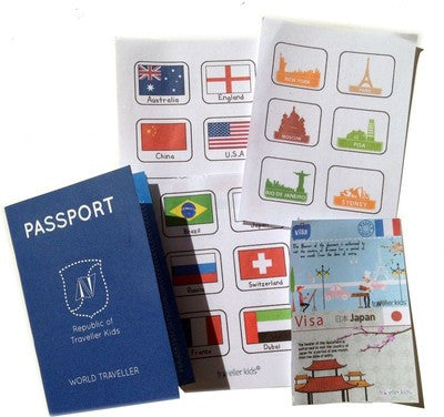 Play Passport Kit by CocoMoco Kids