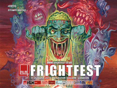 Official Film4 FrightFest 2015 Quad Poster