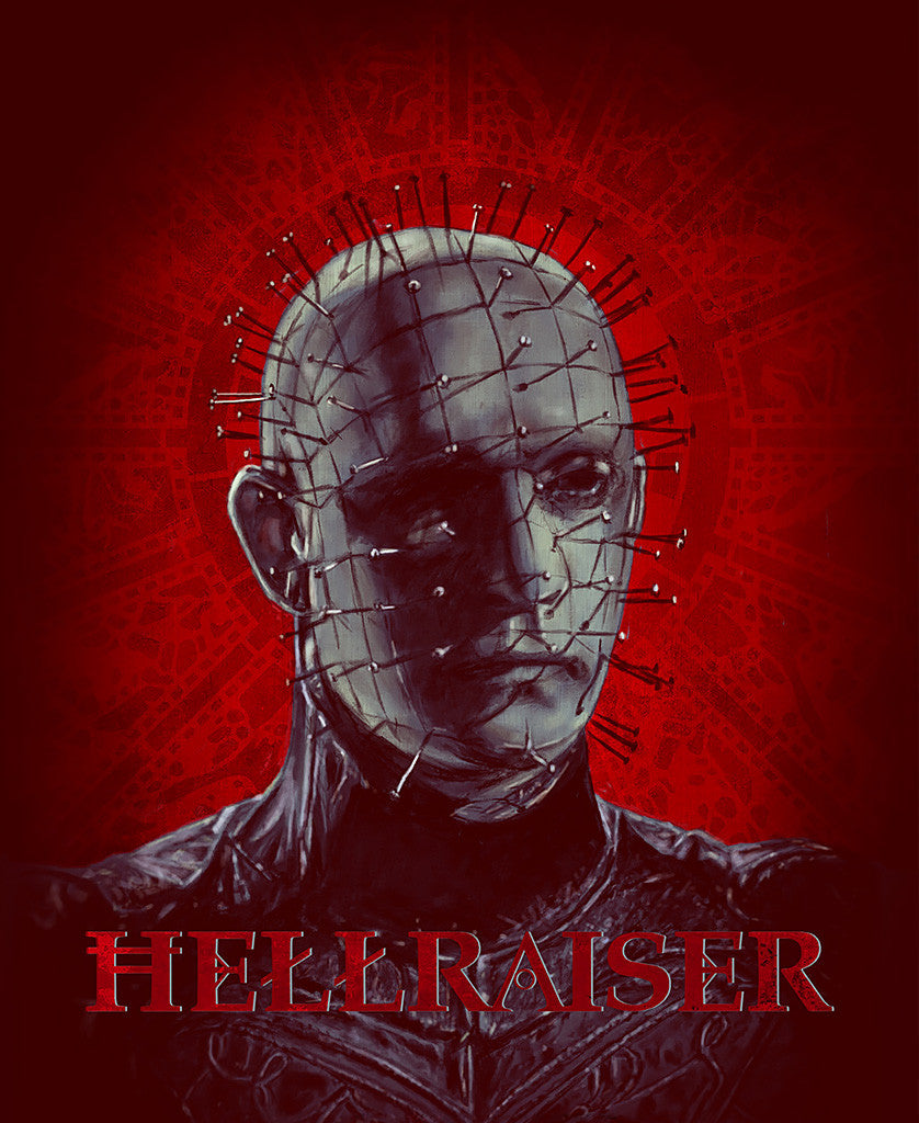 Hellraiser 'Pinhead' Print by Gilles Vranckx [Limited to 120 copies]
