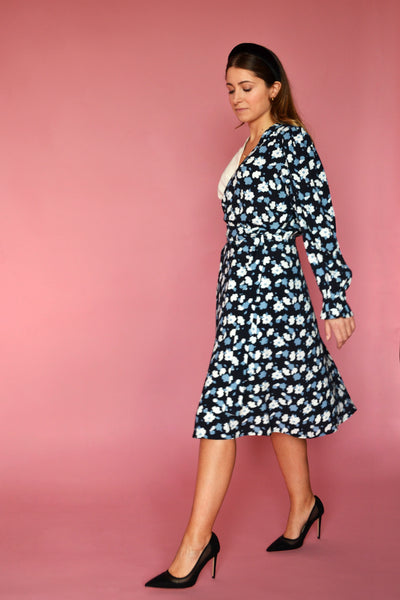 (1/2) Crosby Dress (Joy Print)