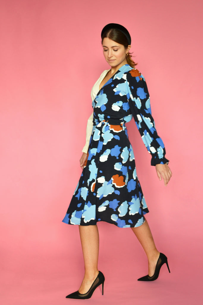 (1/2) Crosby Dress (Jardin Print)