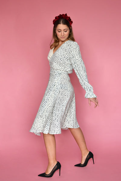 (1/2) Crosby Dress (Belle Print)