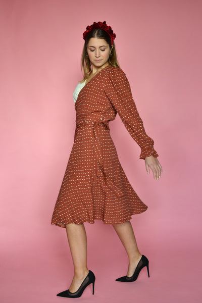 (1/2) Crosby Dress (Madeleine Print)