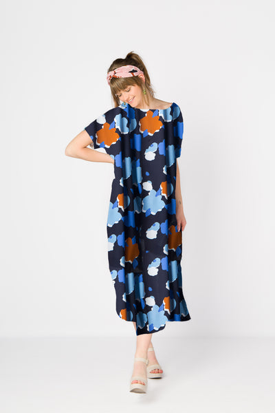 (1/2) Lunghi Dress (Jardin)