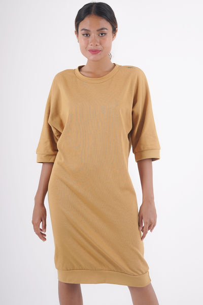 Slouch Dress - Inca Gold