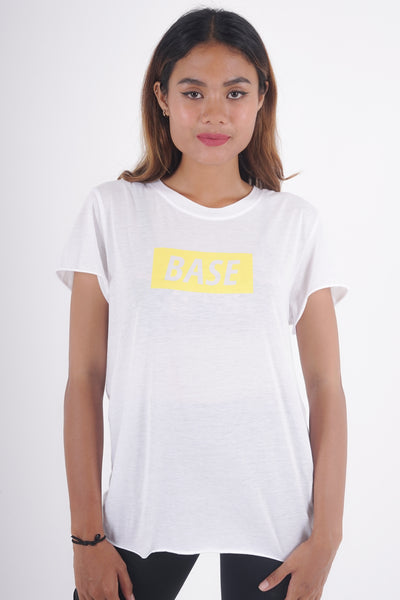 Base Graphic Tee - White
