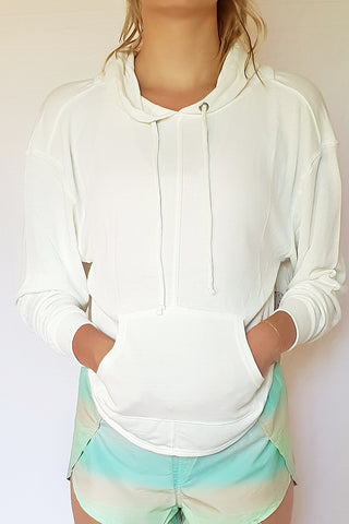 Back Into It Hoodie - White