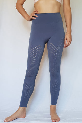 Self-Hem Ecology Legging - Blue Mountain