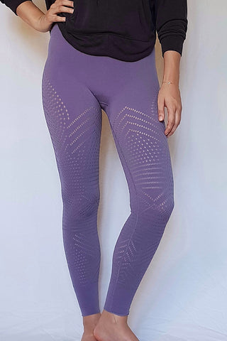 Self-Hem Ecology Legging - Lavender