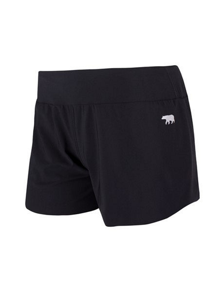 Courts Luxe Running Short - Black