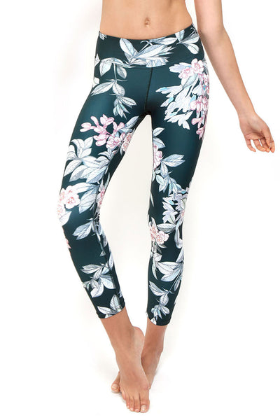 Botanical High Waisted 7/8 Length Legging