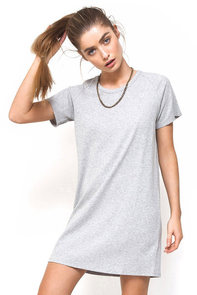 Down Time Dress - Grey Marle