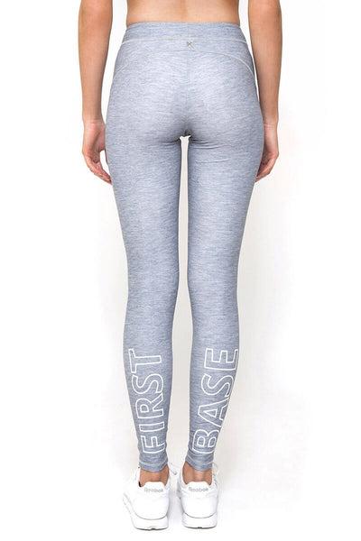 Major League Full Length Legging - Grey