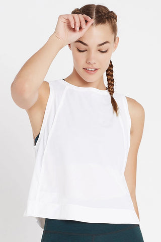 Box It Out Tank - White