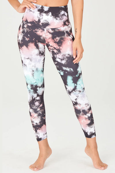 High Rise Midi Legging - True Romance