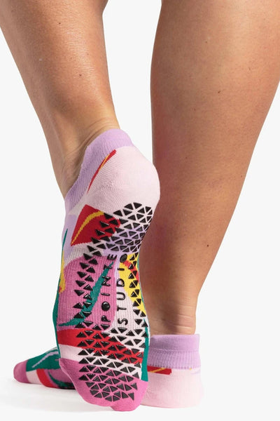 Miley Grip Sock - Pink