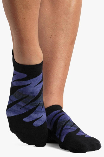 Monica Grip Sock - Blue