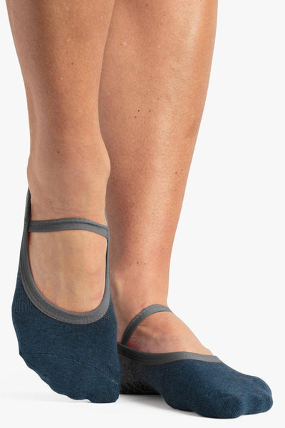 Piper Dance Grip Sock - Blue