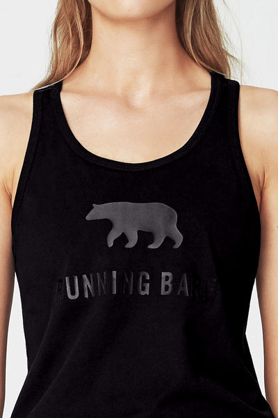 Follow The Bear Tank - Black
