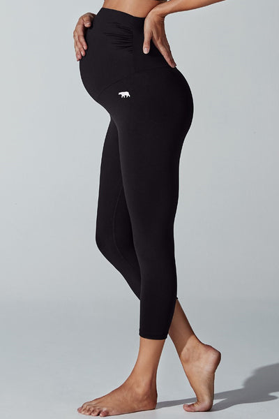 Maternity Tummy-Tastic 7/8 Tight - Black