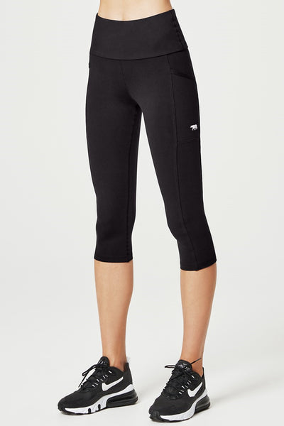 Power Moves Pocket 3/4 Tight - Black SUP
