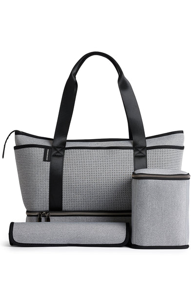 The Sunday Neoprene Bag - Light Grey Marle