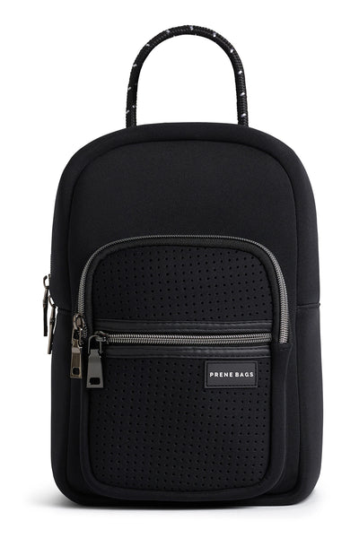 The Mini Neoprene Backpack - Black