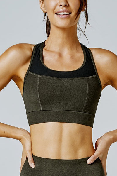 Spectre Sports Bra - Major Marle
