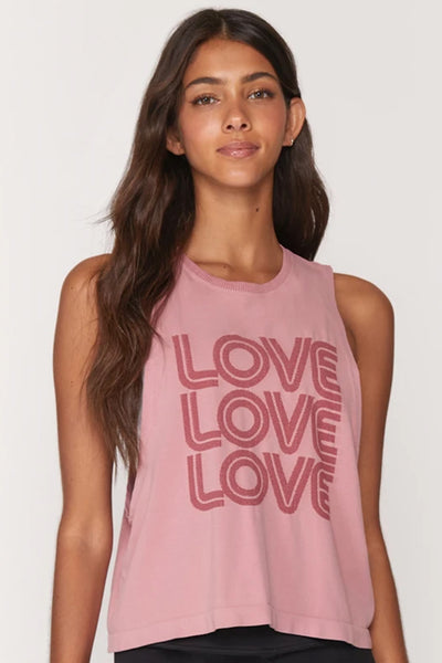 Love Active Flow Tank - Rose